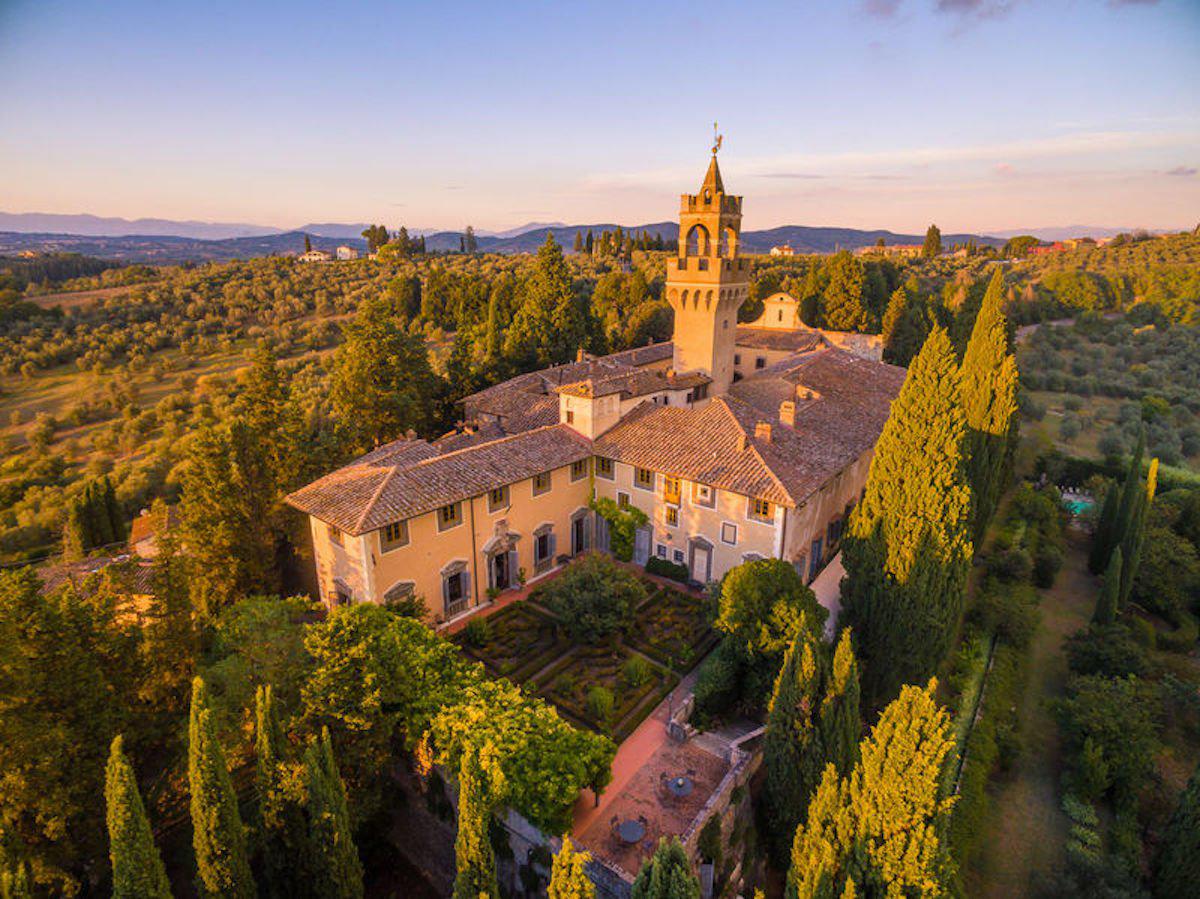 Montegufoni Castle, איטליה