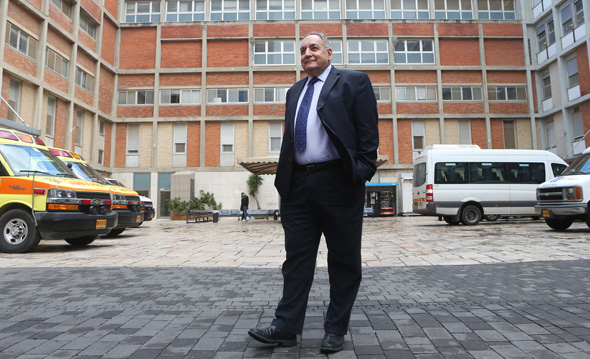 """זאב רוטשטיין מנכ""""ל בית החולים הדסה, צילום: אלכס קולומויסקי"""