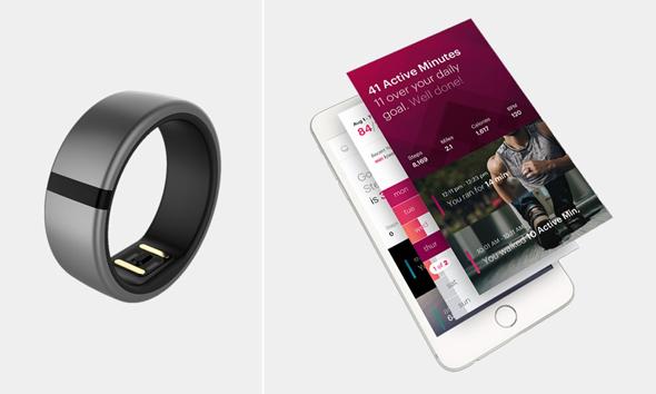 הטבעת החכמה ואפליקציית השליטה שלה