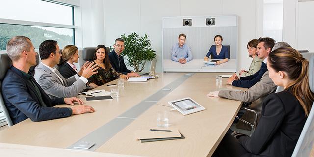 ישיבת עבודה, רוב האנשים גם ככה עסוקים בלחשוב על מה הם יאמרו ולא בלהקשיב לדבריכם, צילום: באדיבות סיסקו