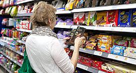 קניות מדפים סופר סופרמרקט מזון, צילום: אוראל כהן