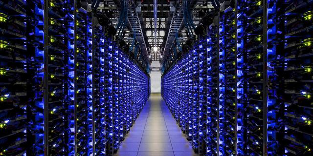 A data center. Photo: Courtesy