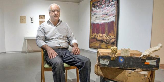 האדמה בוערת: תערוכה של האמן אוסמה סעיד