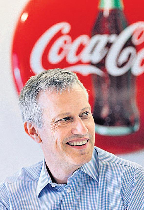 """מנכ""""ל קוקה קולה החדש ג'יימס קווינסי, צילום: טי. אן. אס"""