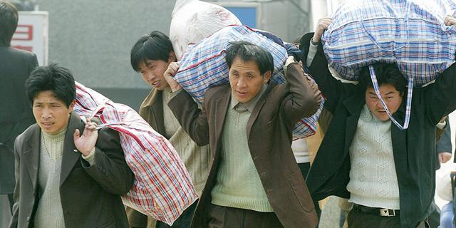 מהגרי עבודה בסין (ארכיון)