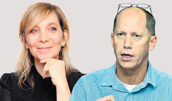 חברי ועדת האיתור פרופ' רון חריס ואמי פלמור