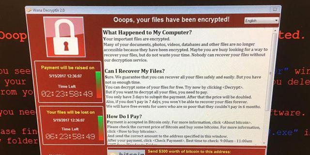 מתקפת נוזקת הכופר WannaCry פגעה ב-150 מדינות - וגם בישראל