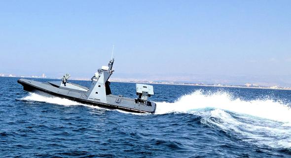 פרוטקטור סירה בלתי מאוישת רפאל חיל הים, צילום: רפאל