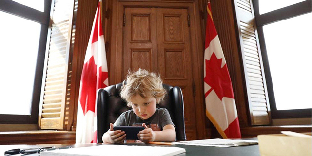 הבן של ראש ממשלת קנדה, ג