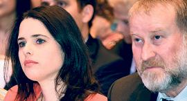 אביחי מנדלבליט ואיילת שקד, צילום: יאיר שגיא