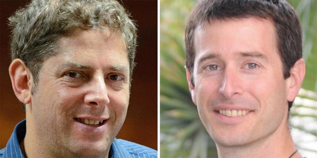 רותם שורק וערן אליאב, מייסדי ביומיקס, צילום: BiomX