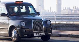מונית חשמלית , צילום: בלומברג