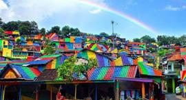 הכפר הצבעוני בעולם, צילום: instagram @ jalidin