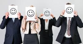 עובדים שמחים עובדים מאושרים עבודה משרד, צילום: שאטרסטוק
