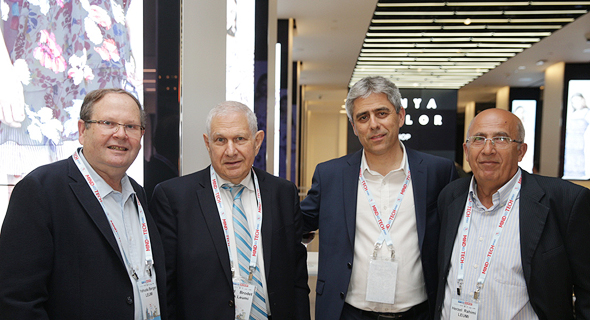 מימין: הרצל רחימי, אמיר לזר, דוד ברודט ויהודה ברגר, צילום: אוראל כהן