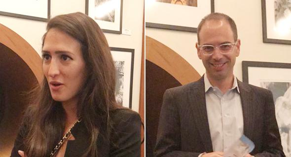 מימין: אמנון קראוס ומאיה אהרוני, צילום: שירי טוינה