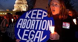 הפגנה בעד הזכות להפלה, צילום: The Telegraph