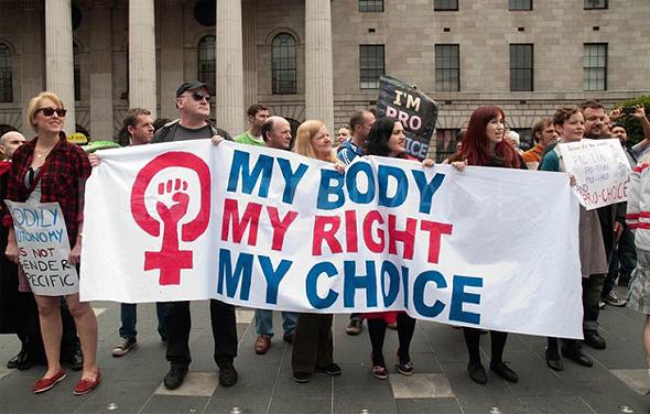 הפגנה למען הזכות להפיל בארצות הברית