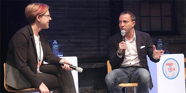 מיטש גרבר ופיונה דרמון, צילום: אוראל כהן