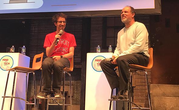 מימין: סטיב גרינברג ויוני בלוך
