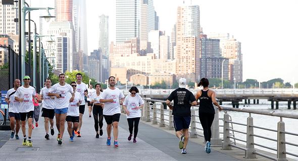 ועידת ניו יורק ריצת בוקר, צילום: אוראל כהן