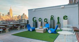 משרדי גוגל ניו יורק מרפסת, צילום: google