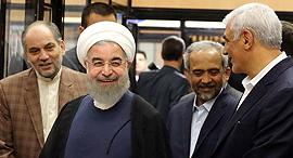 נשיא איראן חסן רוחאני, צילום: רויטרס
