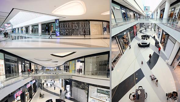 הנכס המרכזי של גינדי, קניון TLV Fashion , צילום: טל שחר, צביקה טישלר