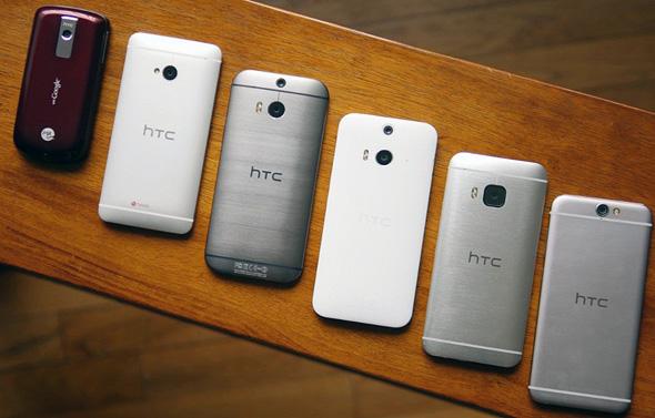 מכשירי HTC לדורותיהם