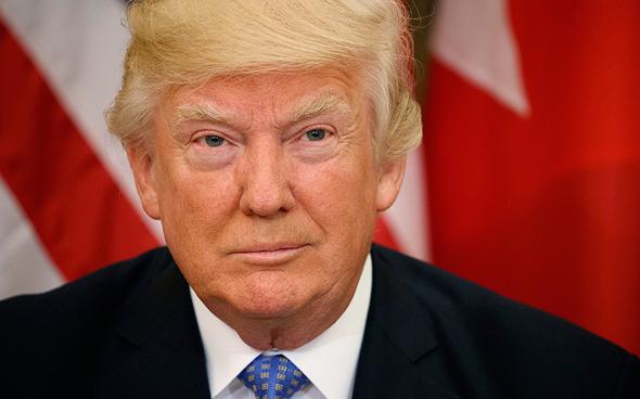 """נשיא ארה""""ב דונלד טראמפ מאי 2017, צילום: איי פי"""