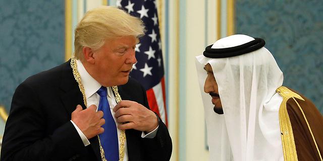 המתנה של טראמפ לסעודים: יחסי ציבור