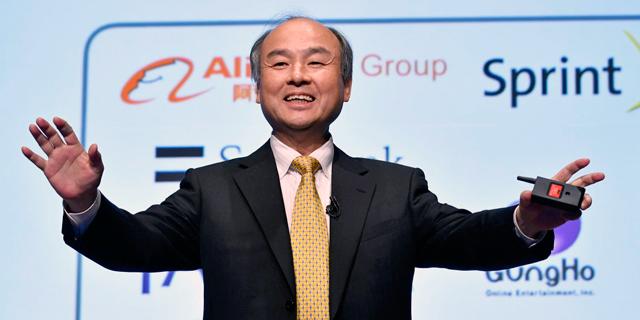 """מסאיושי סון, מנכ""""ל סופטבנק, צילום: אי פי איי"""
