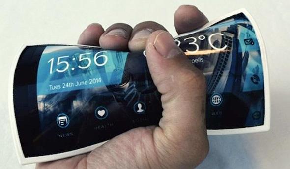 האם סוף סוף יגיעו לטלפונים מסכים גמישים?