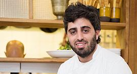 השף מושיקו גמליאלי מסעדת אנה טיכו פנאי, צילום: מקסים דישטיין