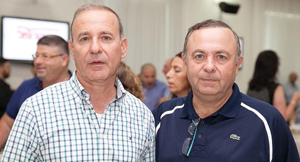 האחים צביקה ויוסי ויליגר, צילום: אוראל כהן