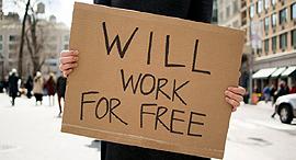 עבודה בחינם אבטלה מובטל, צילום: photoshelter