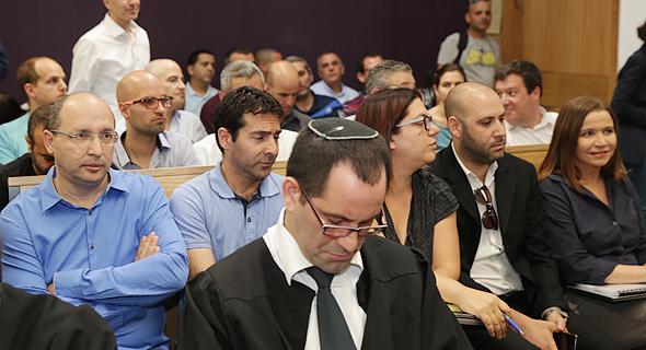 יחימוביץ' וניסנקורן במהלך הדיון, אתמול