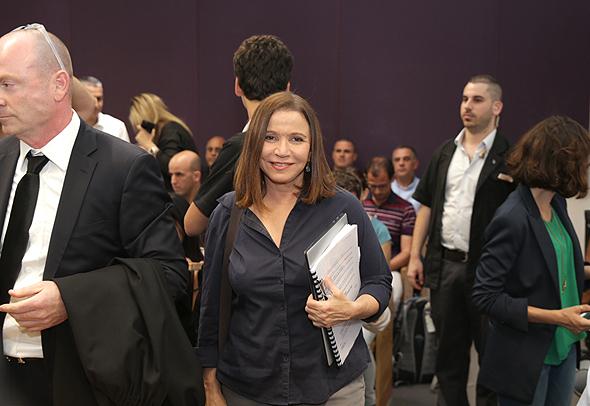 שלי יחימוביץ ב בית המשפט בנושא ביטול הצבעות בחירות הסתדרות, צילום: אוראל כהן