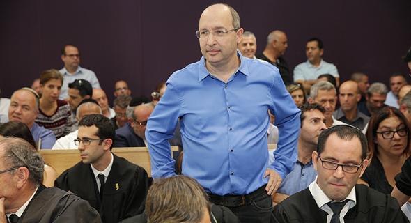 אבי ניסנקורן ב בית המשפט בנושא ביטול הצבעות בחירות הסתדרות, צילום: אוראל כהן
