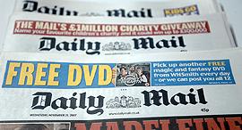 עיתון דיילי מייל בריטניה, צילום: בלומברג
