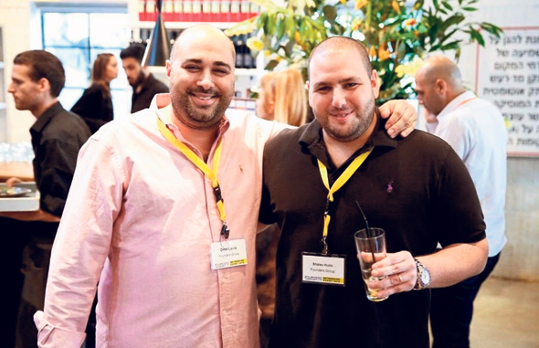 NSO co-founders Omri Lavie and Shalev Hulio. Photo: Bar Cohen