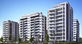 הדמיית מתחם המגורים דירה להשכיר באור יהודה, צילום: 3d design