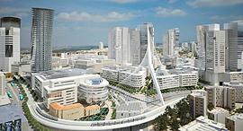 """הדמיית תוכנית """"הכניסה לעיר"""", הדמיה:דגן פתרונות ויזואלים מתקדמים"""