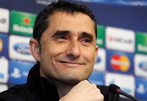 ארנסטו ואלוורדה מאמן ברצלונה שפוטר