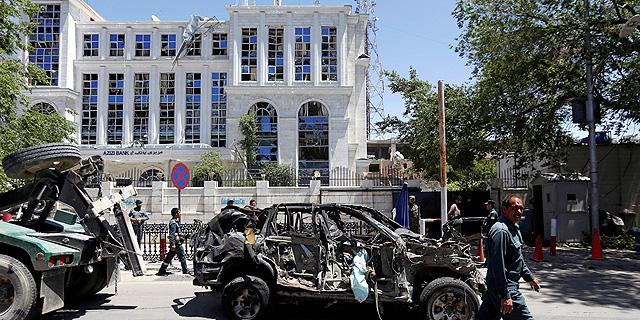 אפגניסטן: 80 הרוגים בפיצוץ ענק ליד שגרירות גרמניה