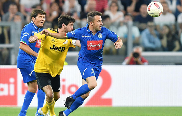 Italian football legend Alessandro Del Piero. Photo: EPA