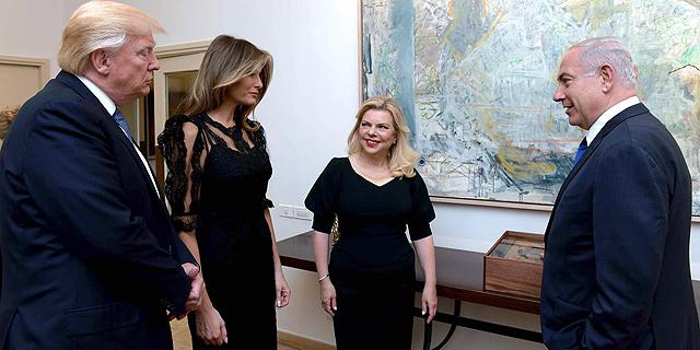 """הביקור הנשיאותי. שטיינמץ אישרה לסייד, צילום: אבי אוחיון לע""""מ"""