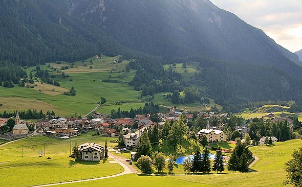 הכפר השוויצרי ברגון-בראוון