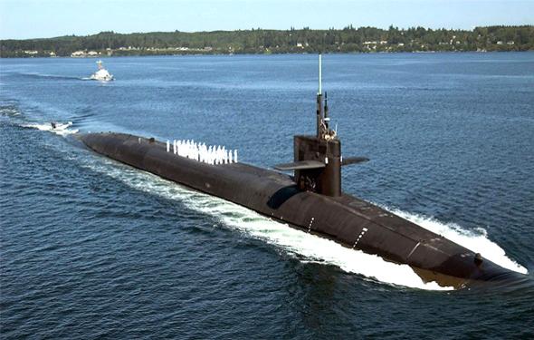 האנטי וירוס לא מעודכן. צוללת טילים גרעיניים, צילום: Military Today