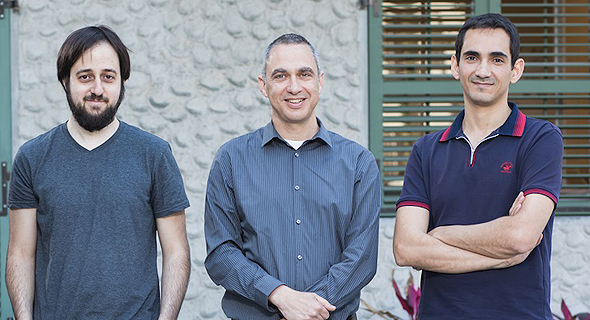 Brodmann17 co-founders Assaf Mushinsky (left), Amir Alush, and Adi Pinhas. Photo: PR